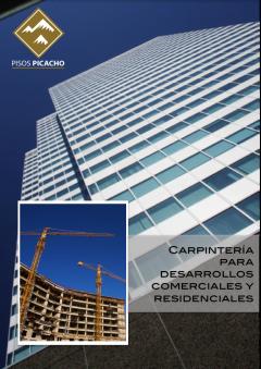 carpinteria para desarrollos residenciales